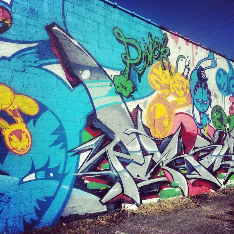 graffiti stock abbildung
