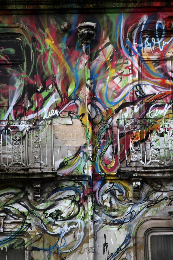 graffiti royalty-vrije illustratie
