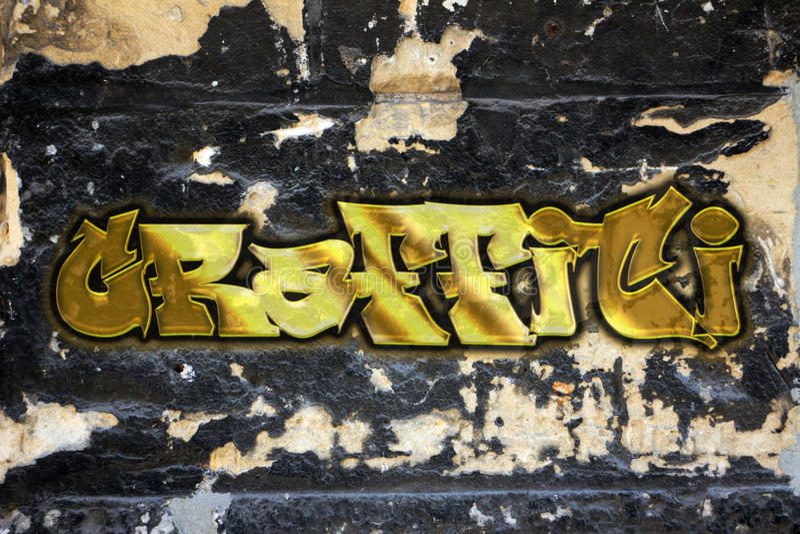 graffiti ilustração stock