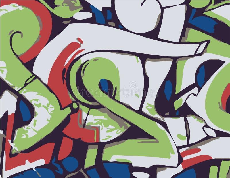Graffiti vektor abbildung