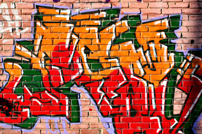 graffiti image stock