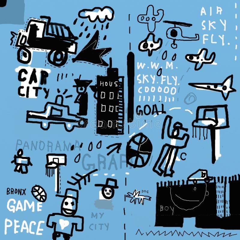 graffiti vector illustratie