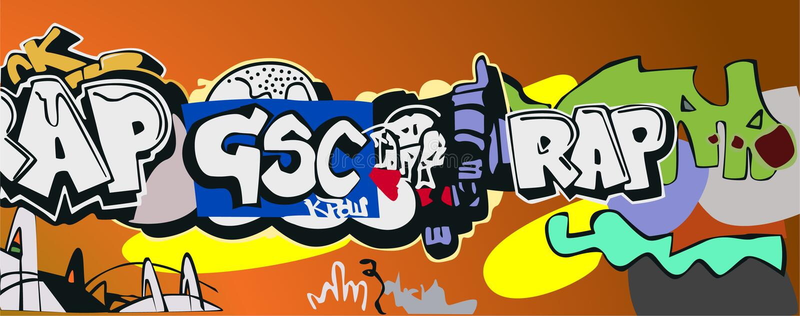 Graffiti royalty free illustration