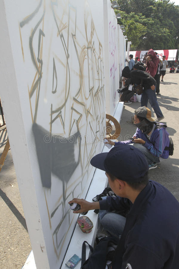 graffiti foto de stock