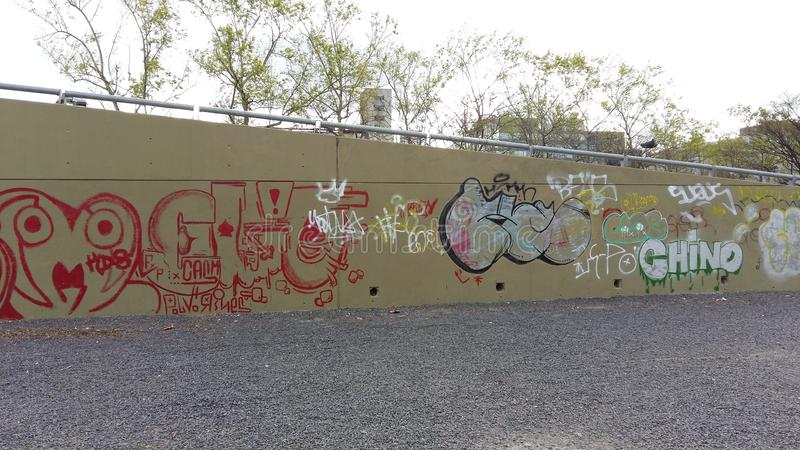 graffiti fotografia de stock