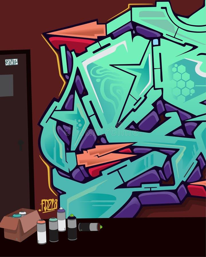 graffiti imagem de stock royalty free