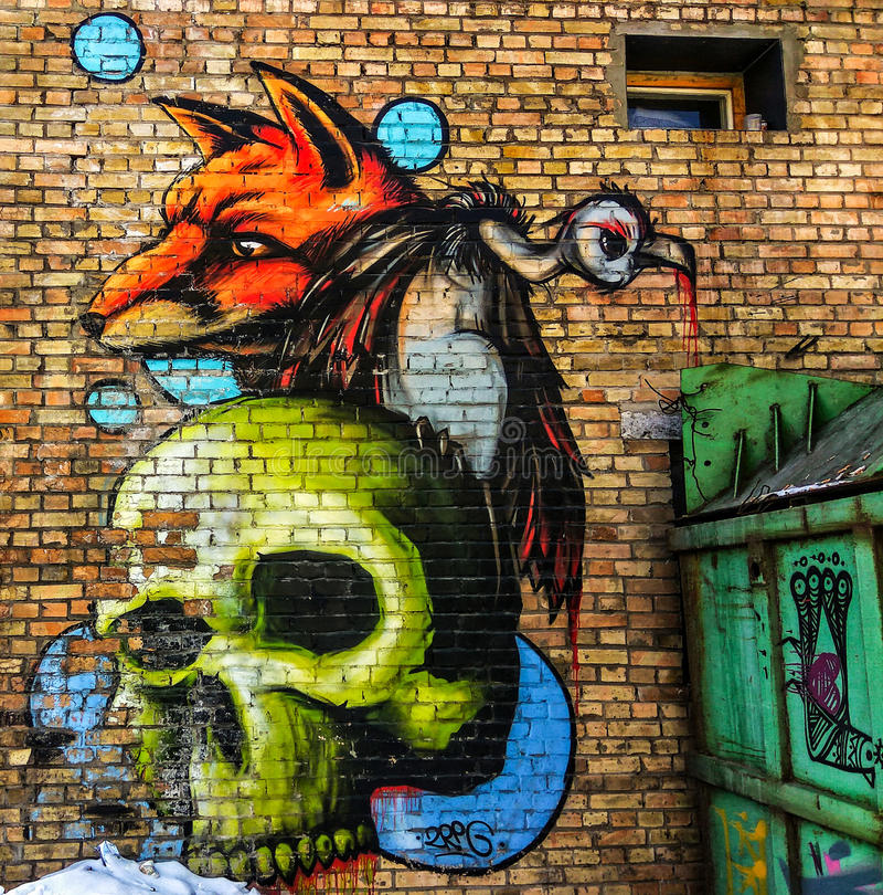 graffiti imagem de stock