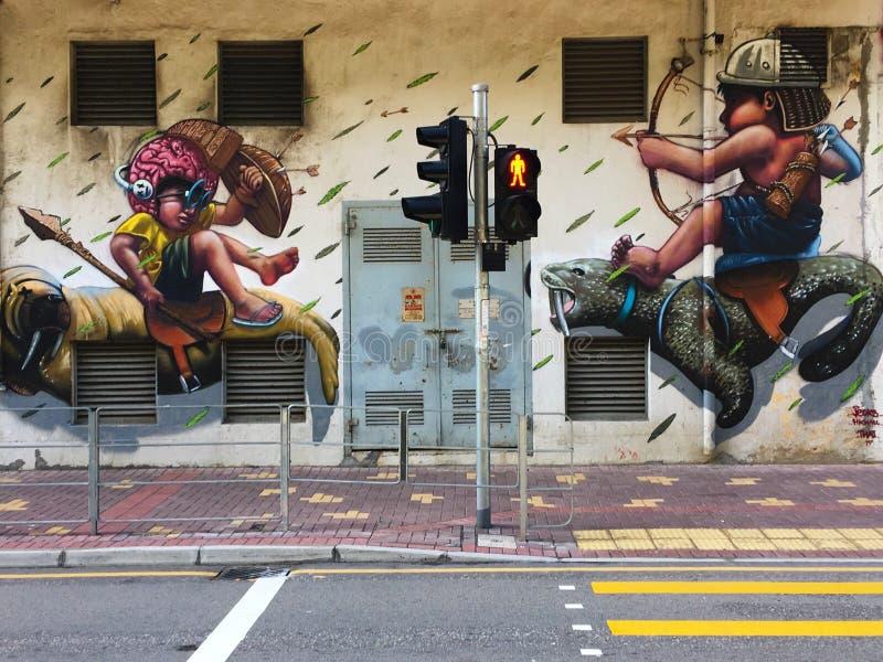 graffiti stockbild