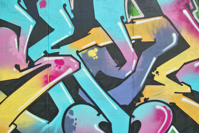 Graffiti abstrait images libres de droits