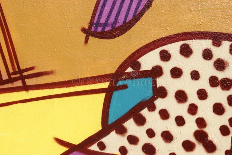 Graffiti abstrait photo stock