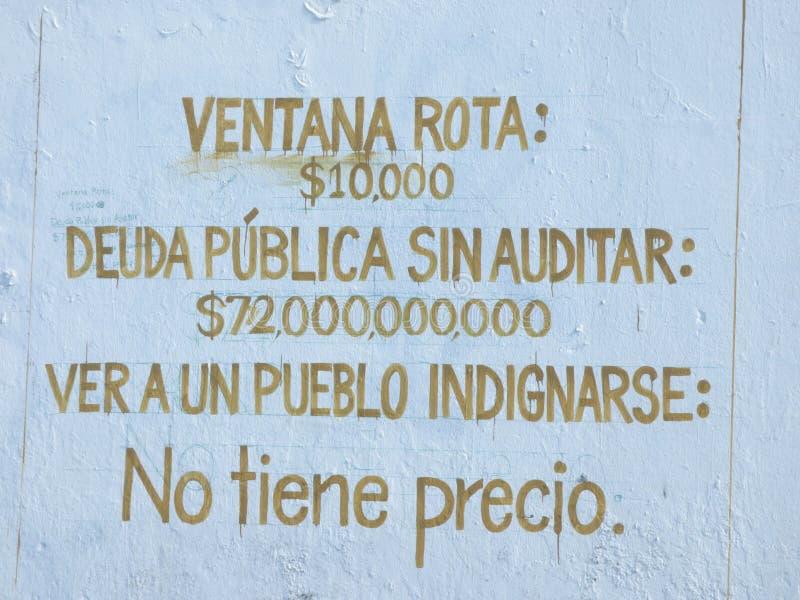 Graffiti Art, Wall in San Juan, Puerto Rico stock photo