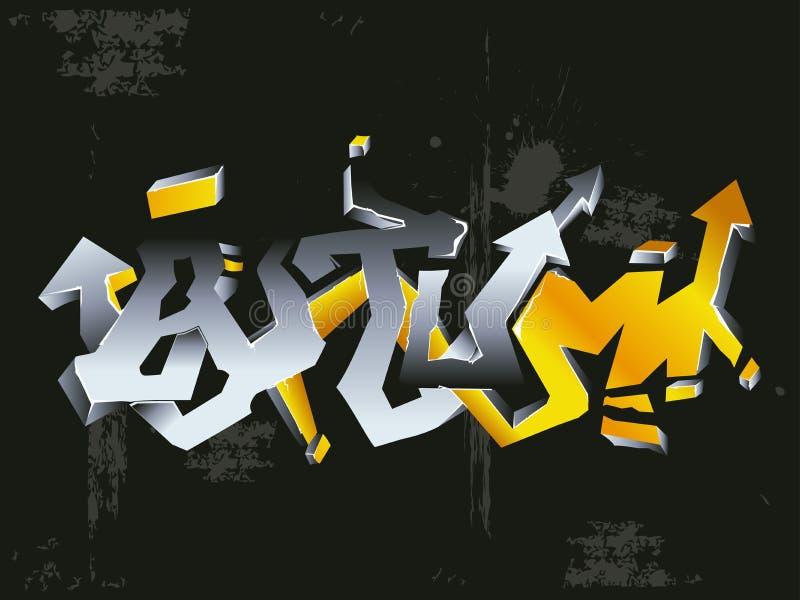 Download Graffiti autumn stock vector. Illustration of pattern - 3944781
