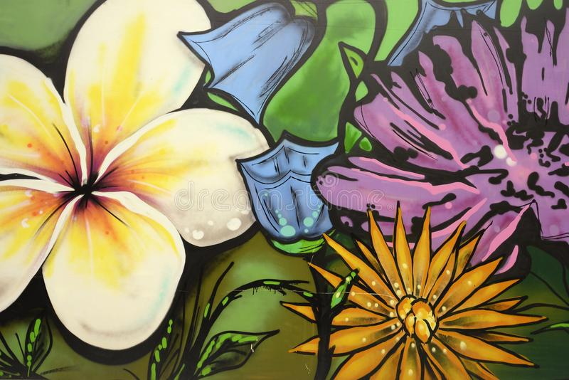 Graffiti Background stock photo
