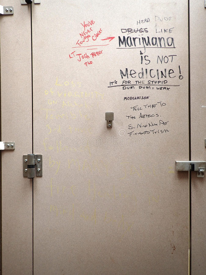 Ordinaire Download Graffiti On Bathroom Stall Door Editorial Photography   Image Of  Moderation, Lifestyle: 63082847