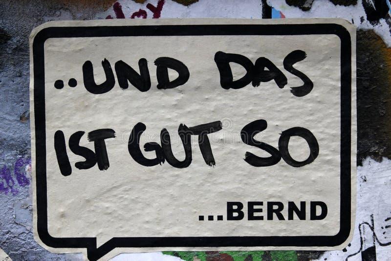 Graffiti in Berlin, Germany royalty free stock photo