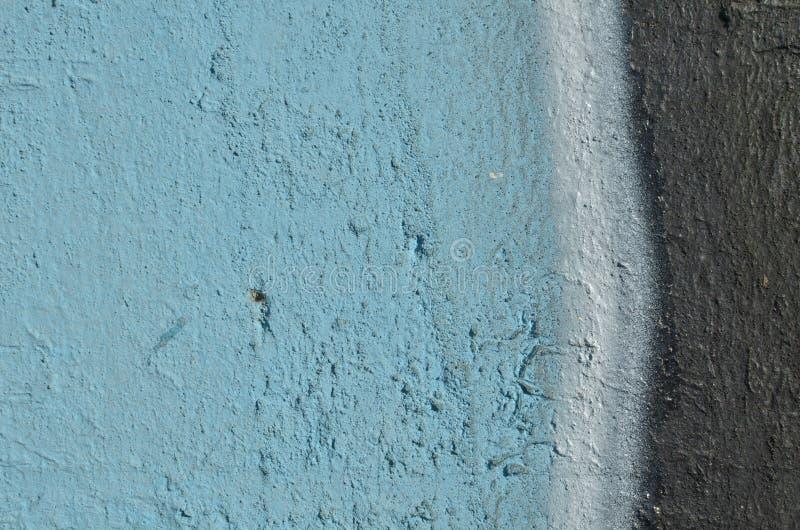 Graffiti bleu et noir images libres de droits