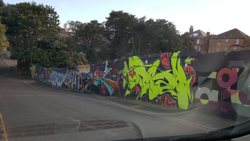 Graffiti Bournemouth fotografia stock libera da diritti