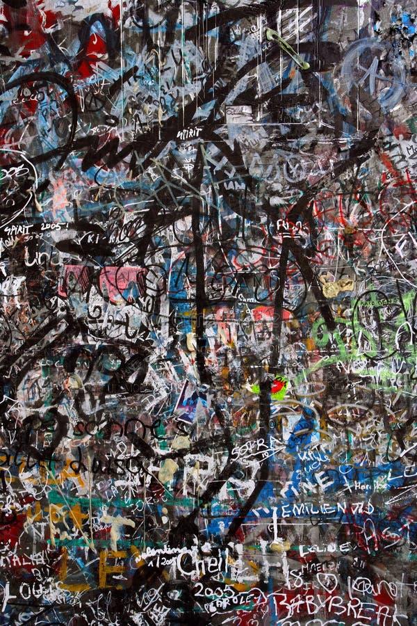 Graffiti chaos royalty free stock image
