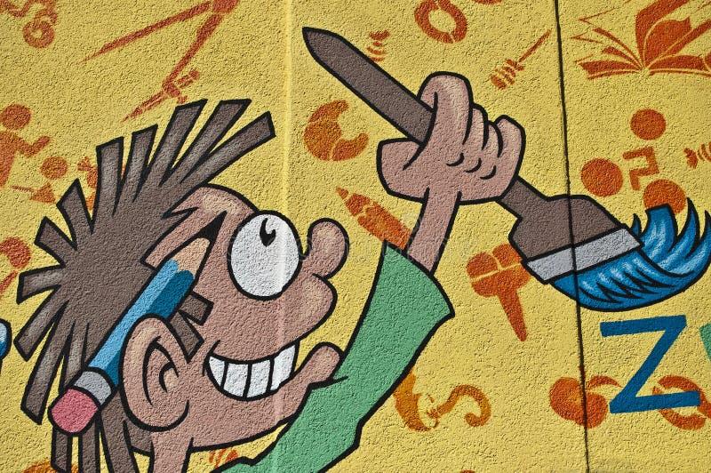 graffiti children. stock photography