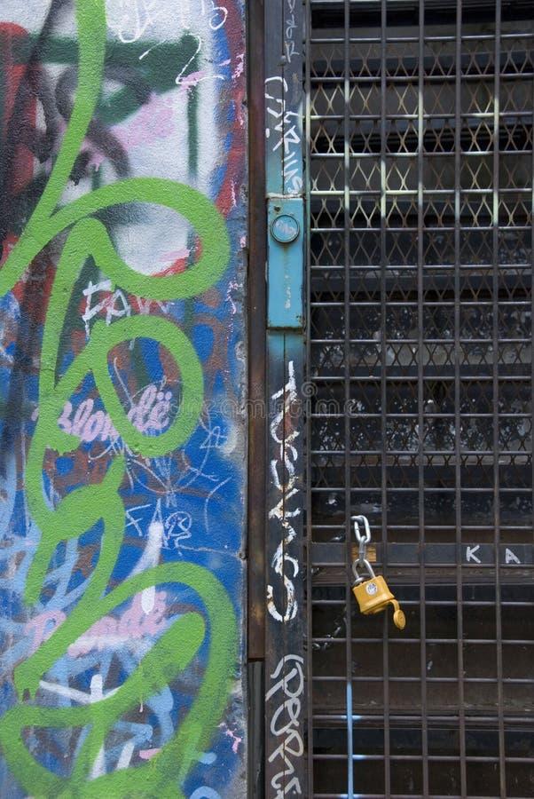 Graffiti coloré images libres de droits