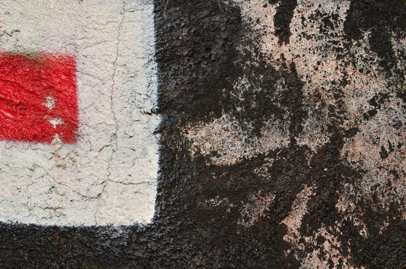 Graffiti de décomposition image stock