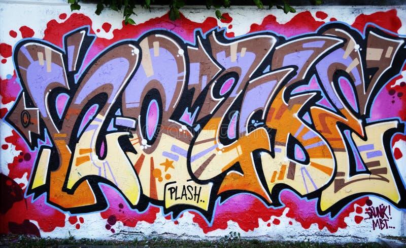 Graffiti de mur photos stock