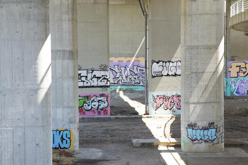 graffiti royalty-vrije stock afbeelding