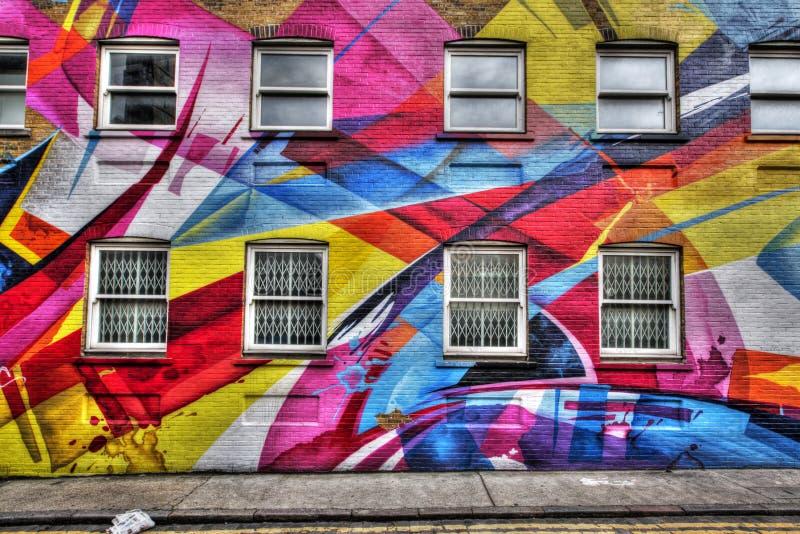 Graffiti de Oost- van Londen royalty-vrije stock foto