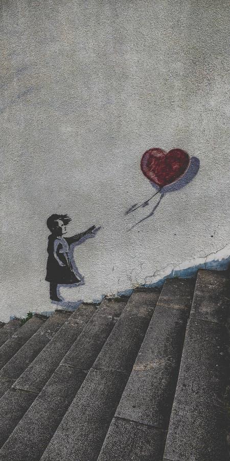 Graffiti de ville images stock