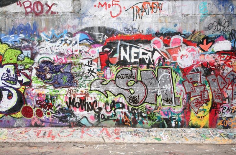 Graffiti della città fotografia stock