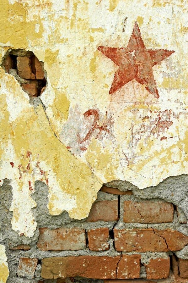 Graffiti dello stampino fotografia stock
