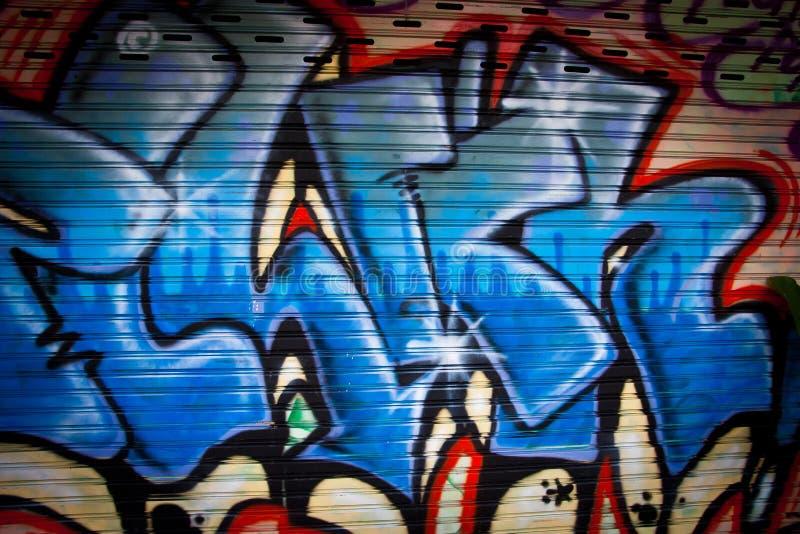 Graffiti di arte della via fotografia stock libera da diritti