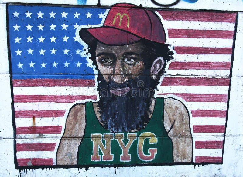 Graffiti di NYC fotografie stock