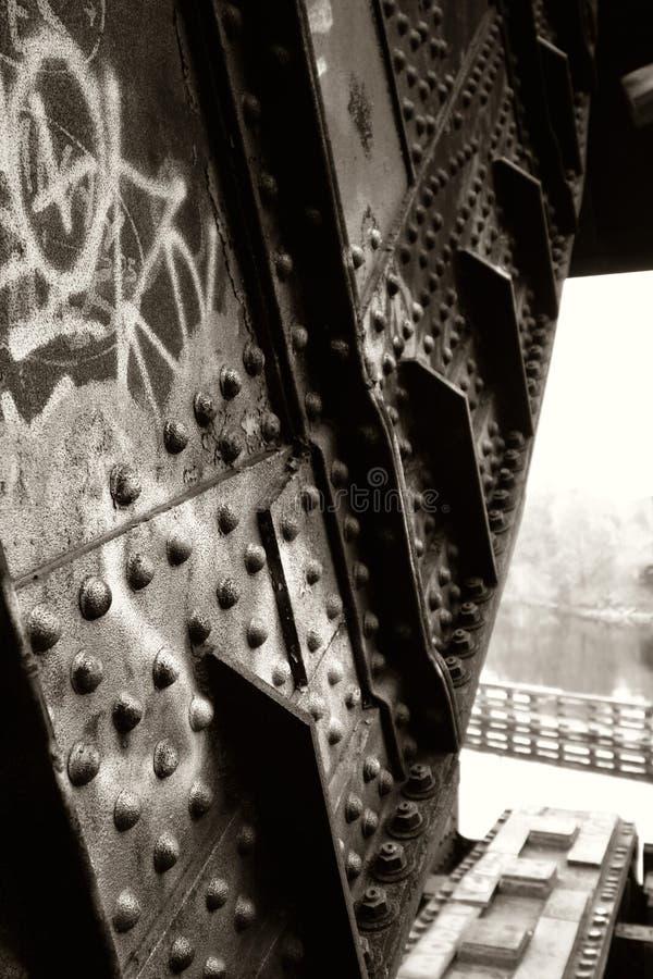Graffiti en Metaal royalty-vrije stock foto's