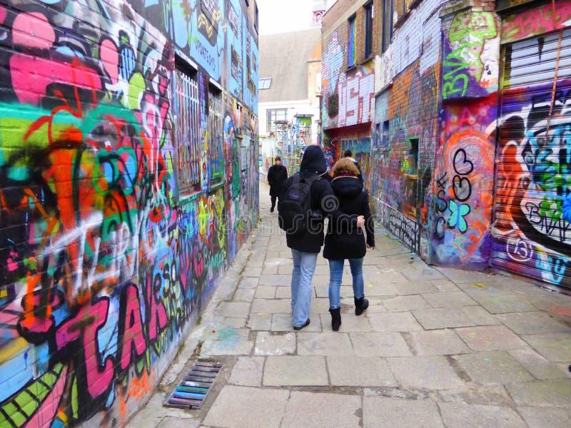 Graffiti extrême photographie stock