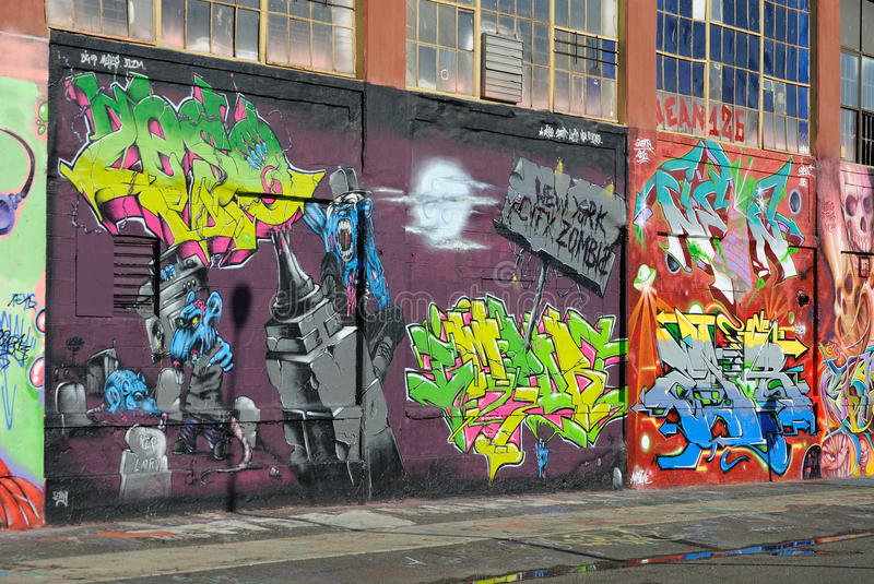 Graffiti At Five Pointz Editorial Image