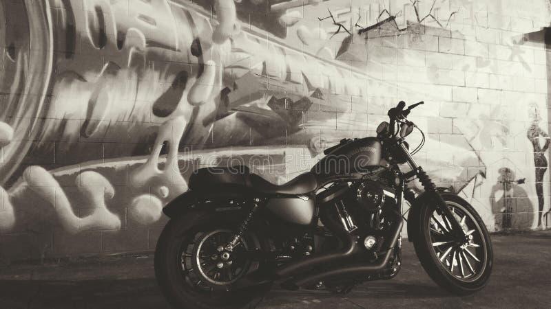 Graffiti HD883 photographie stock