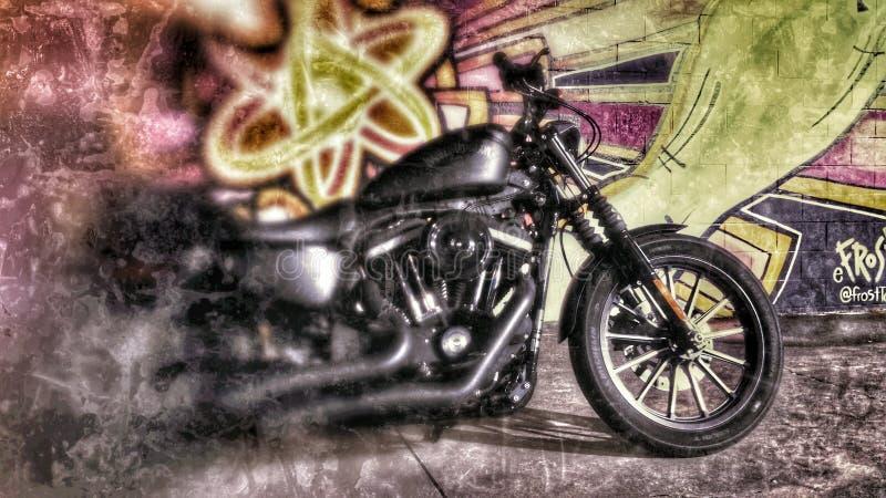 Graffiti HD883 images libres de droits