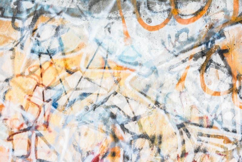 Graffiti het schilderen royalty-vrije stock afbeeldingen