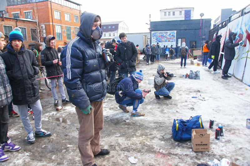 Graffiti Jam Editorial Photo