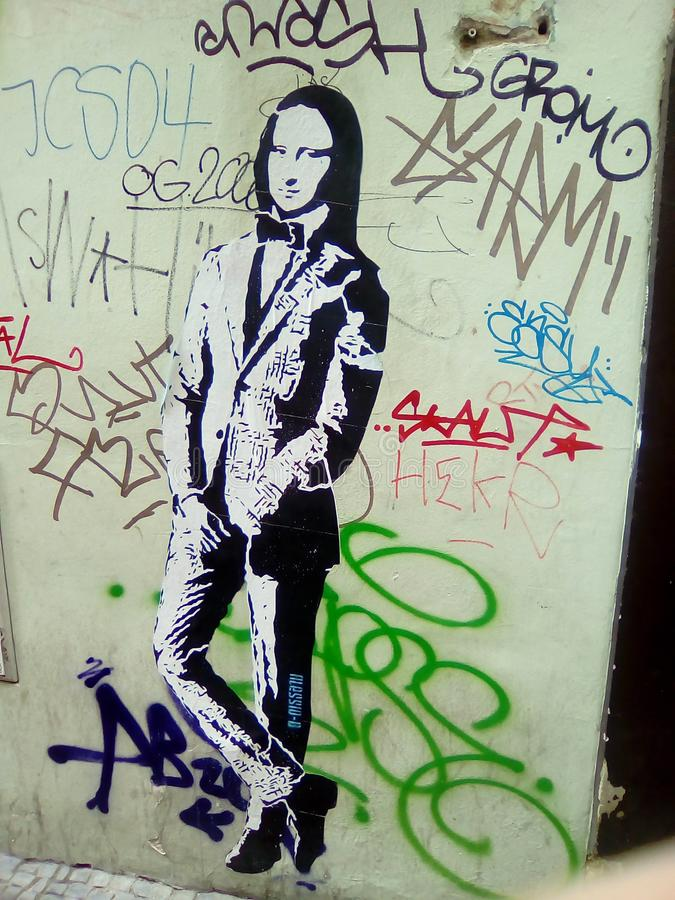Graffiti-Kunst lizenzfreies stockfoto