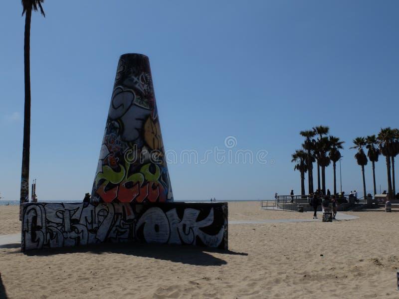 Graffiti LA royalty free stock photo