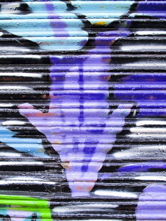 graffiti metal target833_0_ malować obrazy stock