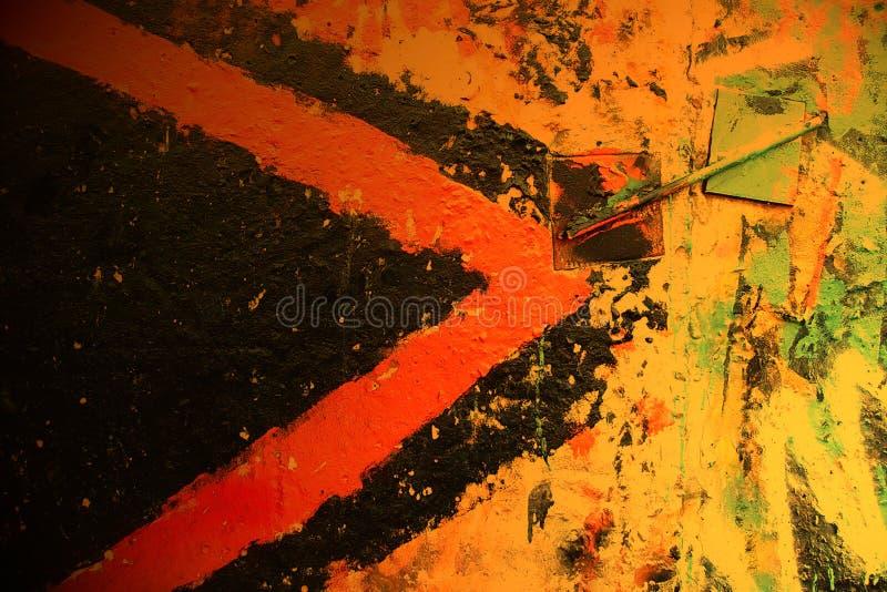 Graffiti miastowa ściana fotografia stock