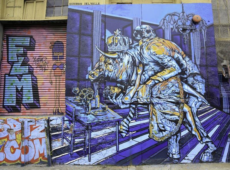 Graffiti in New York City lizenzfreie abbildung