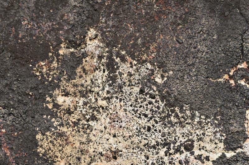 Graffiti noir de décomposition photo libre de droits