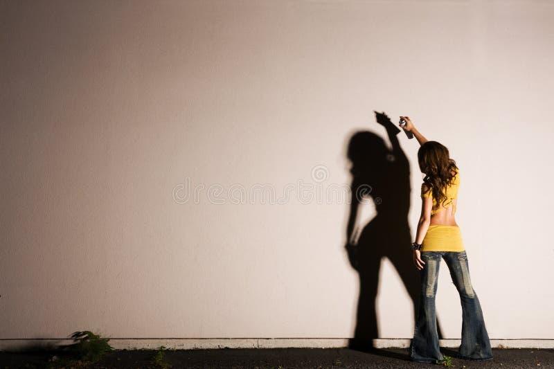 graffiti obraz. fotografia stock