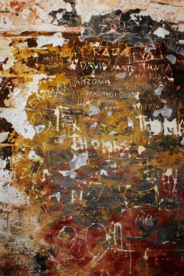 Download Graffiti On Old Wall Stock Photo - Image: 16460390