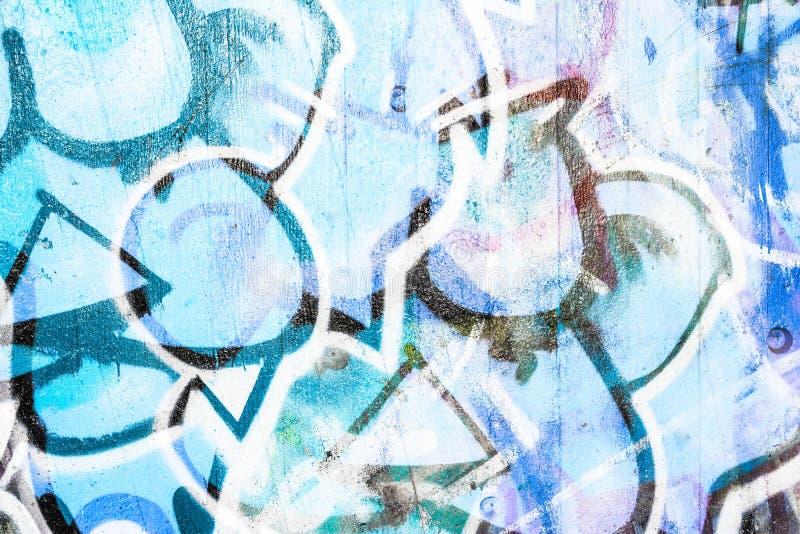Graffiti painting. On stone wall royalty free stock image