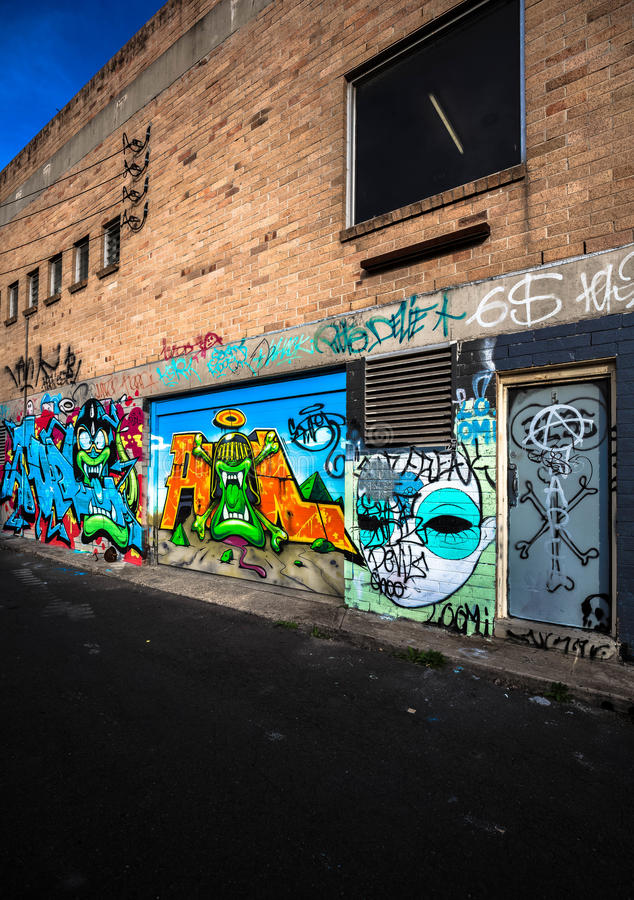 Graffiti Photography royalty free stock images